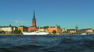 Stock Video Footage of Sea cruise in Stockholm, Sweden