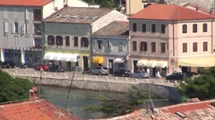 Porec Old and New Town Stock Footage