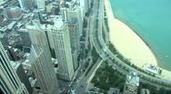 Chicago tilt up-JPG75De Stock Footage