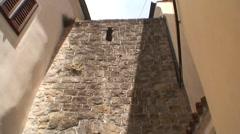 Piran Ancient Archway Stock Footage