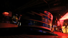 Fairground - waltzer Stock Footage