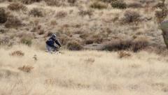 Mountain bikers 6 Stock Footage