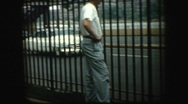Stock Video Footage of 50's Man standing next to FDR highway New York City