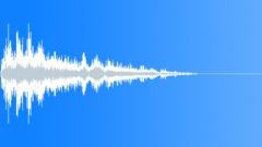 Strange flyby impact Sound Effect