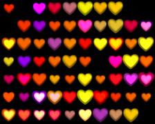 720 X 576 - Heart Vj Loops - 021 Stock Footage