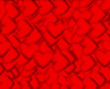 720 X 576 - Heart Vj Loops - 017 Stock Footage