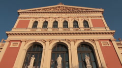 Musikverein Vienna Stock Footage
