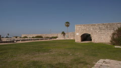 Acre fortress P1 Stock Footage