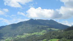 Hills in Tyrol Stock Footage