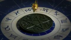 Esoteric pendulum Stock Footage