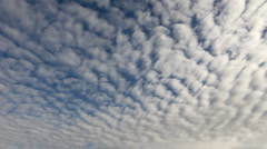 Time Lapse Cloud Clusters Stock Footage