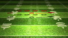 American Football Tactics 05 Stock Footage