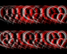 720 X 576 - Heart Vj Loops - 002 Stock Footage