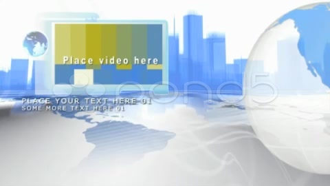 After Effects Project - Pond5 cityscape n globes Slideshow 1063264