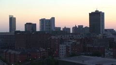 Manchester Sunset Stock Footage