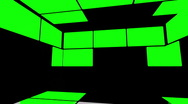 Stock Video Footage of Green Screen Box 11
