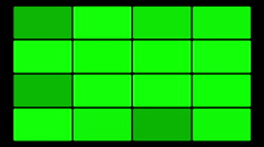 Green Screen Box 16 Stock Footage