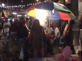 Stock Video Footage of Night market