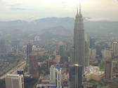 Stock Video Footage of View from KL Tower