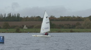 Disabled yachting - accessible sport. Stock Footage