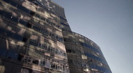 Stock Video Footage of Modern building in Manhattan