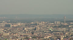 City of Vienna, St. Stephens Cathedral Stock Footage