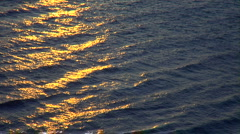 Golden Waves Stock Footage