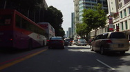 Stock Video Footage of Driving in Singapore