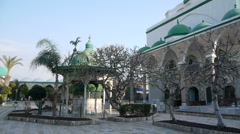 Acre Jezzar Pasha Mosque P3 Stock Footage