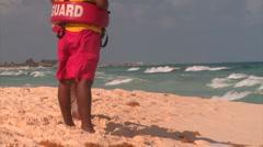 Lifeguards Stock Footage