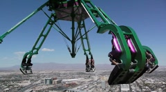 Stratosphere tower Stock Footage