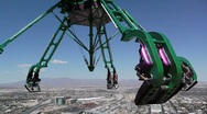 Stock Video Footage of stratosphere tower