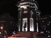 Triumphal arch. Stock Footage