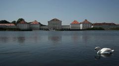 Nymphenburg Palace Exterior - stock footage
