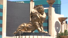 Lion, MGM Grand  Stock Footage