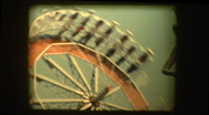 Stock Video Footage of Carnival Ride The Round Up 1961