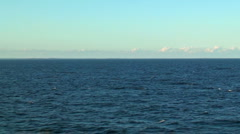 Scenic seascape - stock footage