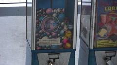 Bouncy ball machine Stock Footage
