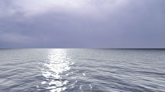 Ocean Blue Purple Stock Footage