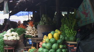 Stock Video Footage of Africa: inside produce market