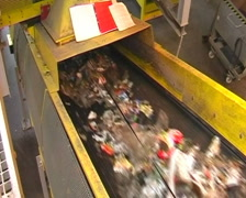 Recycling plant Stock Footage