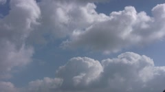 Slow Moving Clouds Stock Footage