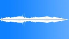 Alien atmospheres: the alien humming to himself in the orange mists - stock music
