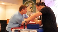 Stock Video Footage of Arm wrestling