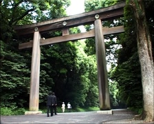 Stock Video Footage of Meiji Shrine in Tokyo, Japan GFSD