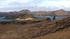 Galapagos Montain 2 (FULL HD 1080) - stock footage