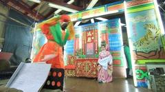 Chinese opera Stock Footage