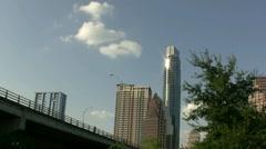 Bat Watching Bridge Austin Texas Stock Footage
