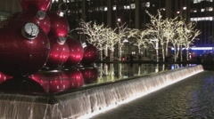 Christmas in Manhattan - stock footage