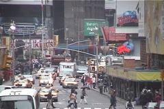 Busy NY Street Scene 2 Stock Footage